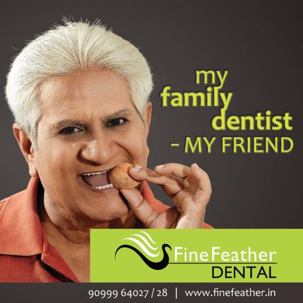 Get Dental Implants today to replace your missing teeth. We ensure that the Dental Implants treatment provided by our Orthodontists function just like natural teeth. Don't struggle to pronounce everyday words from now on. Spell and also smi - by FineFeather Dental, Vesu, Surat