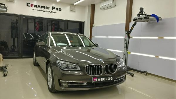 BMW 7 Series  After Paint Correction Ceramic Pro Nano Polish Ceramic Pro Chennai Supreme Glossiness Prepared For Nano ceramic Treatment