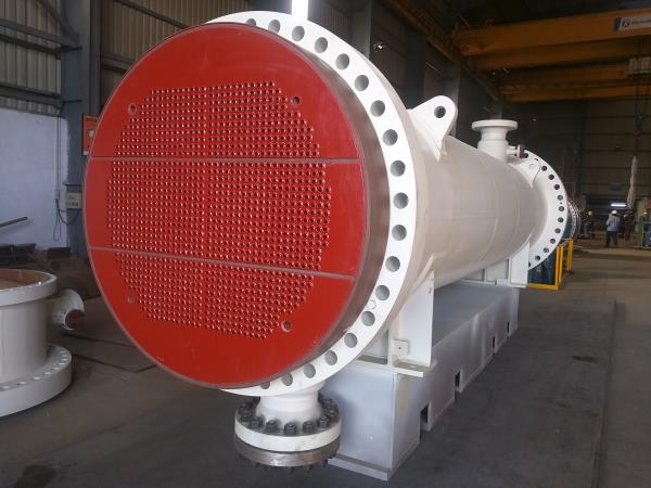 One of the 15 Heat Exchanger Dispached to ONGC Uran Plant with Sakaphen Coating.
