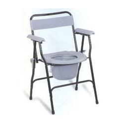 Folding Commode Chair People who are suffering from severe injuries and accidents will find this commode chair as the best toilet aid.  It can be used in home as well as in hospitals.  It is specially designed to provide comfort and conveni - by Pioneer Surgicals, Pune