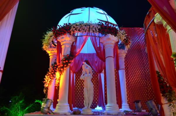 Party Plot with Decoration Service Provider in Memnagar, Ognaj, Ambli. S.P Ring Road.  For More Details and Projection  Drop your query below