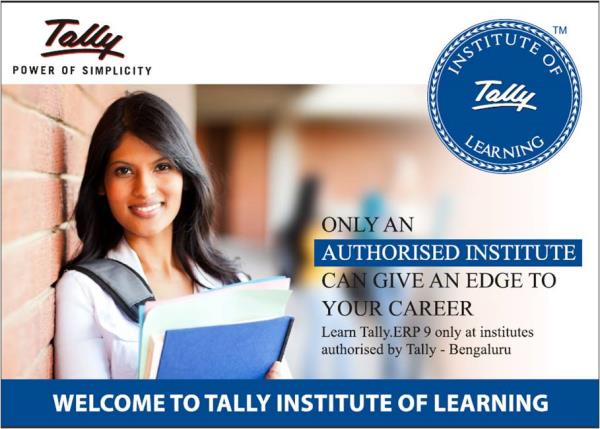 ERP 9 Tally Software Classes  We are ONE of the FIVE authorised partners of M/s Tally in Bangalore to conduct training in Accounts package of ERP9.  Teachers are trained and material is provided by M/s Tally. Exams are conducted and certifi - by Challa Academy PU College, Bengaluru