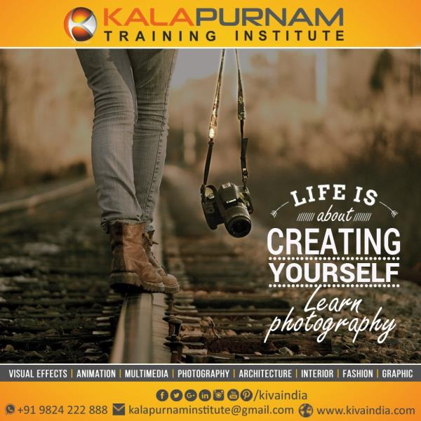 BEST PHOTOGRAPHY INSTITUTE IN AHMEDABAD  At Kalapurnam Institute Photography Institute we offer you the most advanced and comprehensive solution to learning. Our affordable photography courses make #learning photography fun and easy for students. We are committed to providing the highest quality and best #photography courses in #Ahmedabad ( Gujarat ). One of the greatest benefits of this course is your one-on-one relationship with professional photographer.