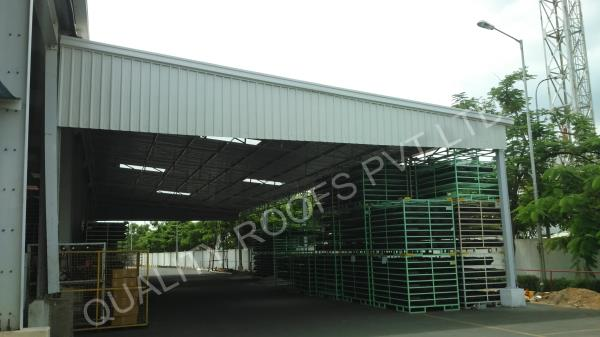 Industrial Roofing In Chennai                   We are the Leading Industrial Roofing In Chennai.  Our company holds immense experience in this domain and is involved in offering wide assortment of Industrial Roofing In Chennai.  These services are rendered by our highly experienced professionals using latest technological advancements as per the industry norms. These claddings are highly demanded in industries for their external walls. Our experienced professionals make sure that the work.  also easy to install and relocate. Featuring durable, light weight finish, these come in high quality.