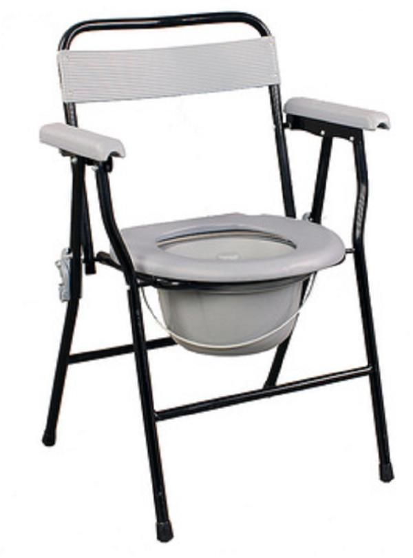 Apex presents Commode stool cum chair with back support and pot that is absolutely necessary for the patients who are in recovery period and are not able to walk properly or without support. It is easy and convenient to use. It is ideal for the use by elderly people.