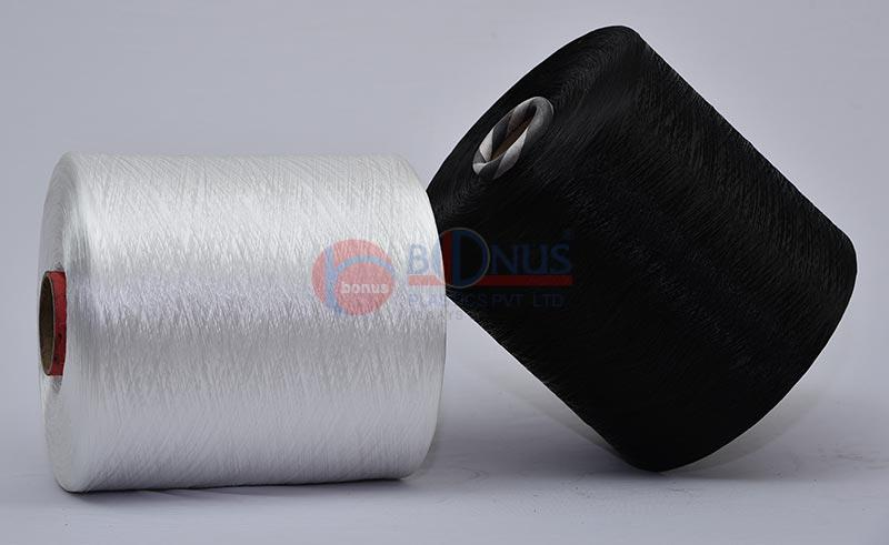 Bonus is an ISO 9001:2008 certified manufacturer of high tenacity PP multifilament yarn and webbings for over two decades now.   With our expertise we have a vast list of clients from countries like Bangladesh, Ethiopia, South Africa, UK, USA etc various fields who depend on us for quality and precision.   Get a sample from our sales team to know our yarn quality.