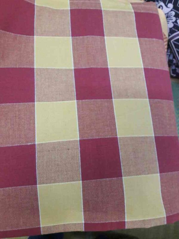 Hand Loom checked Bedsheets available in different colours