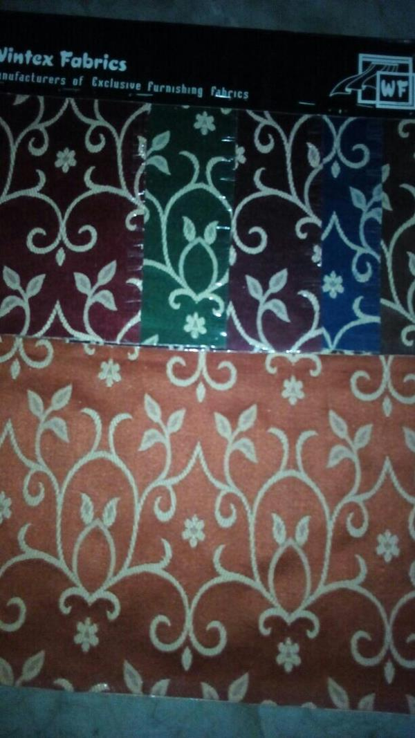 Hand Loom Jacquard cloth for bed covers & Sofa Covers all colours