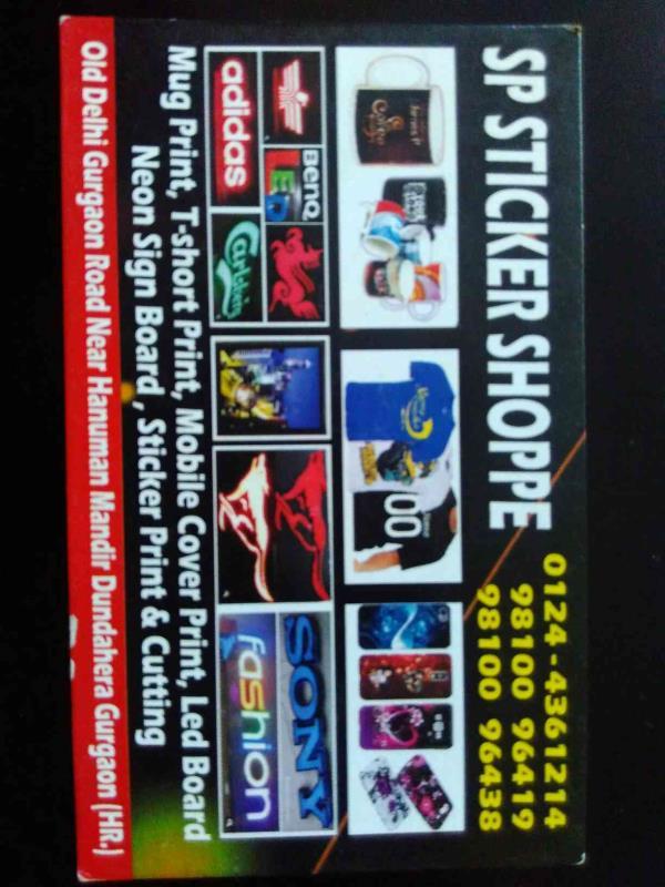 Sticker manufacturer supplier in gurgaon