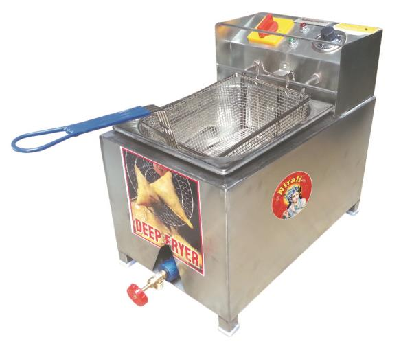 Creation of deep fryer machine: We are engaged in offering our high range of Deep Fryer to our reputed customers. Our offered product is used in hotels and restaurants. Deep Fryer is used to fry various food items such as French fries, alloo tikki, samosa, and many more. This product is manufactured by using best quality material with latest technology and equipments. Moreover, our product checked on various quality parameters, in order to meet the satisfaction of customers.  Features:  Dimensional accuracy Rigid construction High tensile strength