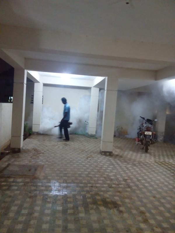 Pest Control Service  in chennai.  This Fogging treatment is carried out against mosquitoes.