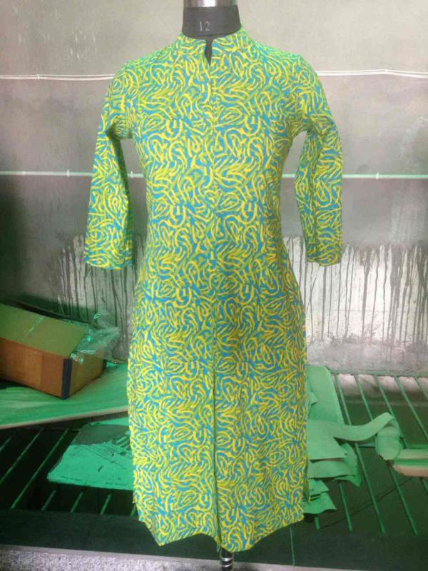 JAIPUR Kurti manufacturers in Jaipur we are from Krishnaa Trade fab sanganer JAIPUR we deal in cotton Kurti reyon Kurti we have the biggest manufacturers in Jaipur for more information  contact us @ 9928671159