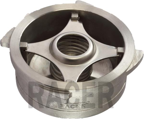 RACER VALVES IS LEADING MANUFACTURER OF DISC CHECK TYPE NONE-RETURN VALVES IN AHMEDABAD, GUJARAT, INDIA. DISC CHECK TYPE NONE-RETURN VALVES, WITH SPRING LOADED DESIGN, METAL SEATED, AND WAFER TYPE DESIGN SUITABLE TO MOUNT BETWEEN TWO FLANGE - by RACER VALVES, Ahmedabad