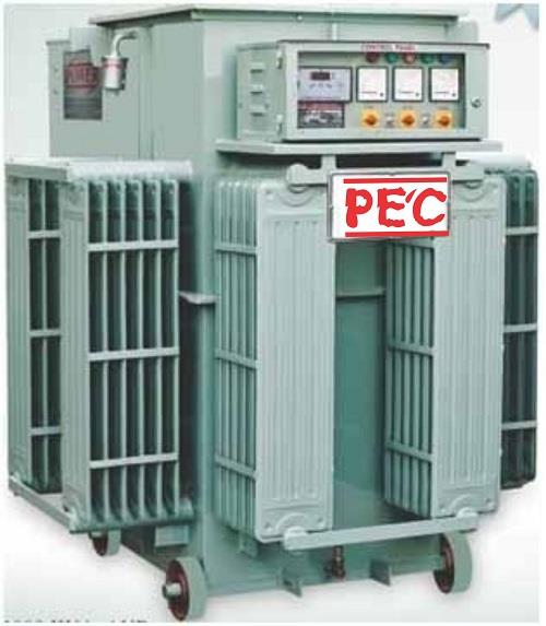 Servo Voltage Stabilizer exporter in Vadodara  Power Engineers Company is Manufacturer &  Exporter of Servo Voltage Stabilizer in Vadodara Gujarat   Power Engineers Company Installed up to 5000 KVA capacity Servo Voltage Stabilizer which is suitable for 100% continuous duty cycle & having more than 99% efficiency.   Leading Servo Voltage Stabilizer exporter in Vadodara Gujarat   for more details  http://www.powerengineersco.com
