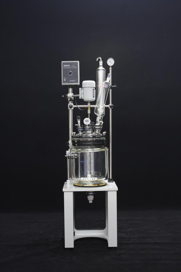 Jacketed Glass Reactor  BRAND SENCO  We are remarkable enterprise, instrument in offering superior quality 2L Jacketed Glass Reactor.  Features:  Negligible maintenance Longer service life Trouble free performance  Specification and uses:  Used as distillation syntheses device Capacity: 2 L 10L  Senco Jacketed Glass Reactor in hyderabad kd traders is directly representative of SENCO Jacketed Glass Reactor we are Jacketed Glass Reactor suppliers in Hyderabad and also we are Jacketed Glass Reactor suppliers in India