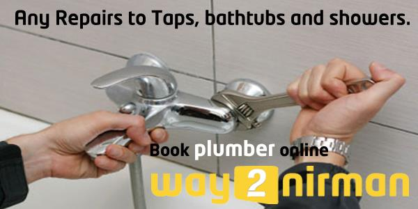 Any repairs to taps, bathtubs and showers. - by Way2nirman Call 040-43434646, Hyderabad