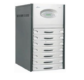 Emerson - Online UPS dealers in Hyderabad , Vijayawada & Vishakhapatnam (Vizag)  Liebert Super 400D 10 & 20KVA   Liebert Super 400D units are a true online sine wave UPS system that provide the users with clean computer grade power for continuous operation of critical loads, regardless disturbances on the upstream AC power. The systems offer maximum reliability and flexibility at the low operating costs   Features & Benefits :- • True online DSP based UPS with utility Power Factor • High Reliability for maximum system availability • Parallel operation for redundancy  • Compatible with Engine Generators  • LCD Display and Mimic Panel for Real-time information  • Output Isolation between UPS and Critical Load  • Temperature compensated Battery charging to enhance the Battery Life  • Battery test facility  • Reverse Phase sequence operation  • Handles 3:1 Crest Factor Loads  • DSP and Dual microprocessor based system  • Intelligent Battery Management  • Full Digital Signal Processing using the latest DSP technology  • Rectifier output short circuit protected • High Overload  & Short-Circuit capacities  • Immune  to Reverse phase  sequence • Alarms can be stored in the memory   Top 4 Applications of Liebert Super 400D are: - • Industrial processes  • Large computer rooms  • Facility-wide networks  • Medical equipment  • Super 400D