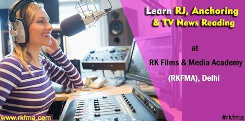 Indian Radio industry is a standout amongst the most famous enterprises. There are different radio channels we tune in every day and tune in to our most loved programs. Different RJs welcome us consistently and engage us and converse with us. If you want to become an RJ then your employment would incorporate music programming, scripting, presenting radio shows, radio ads and leading voice to sound magazines and documentaries. There are different superstar Radio Jockeys who are as of now administering the Radio business and you can become the next one too! This is a profession which requires a lot of hard work and presence of mind. You can learn these techniques at RK Films & Media Academy (RKFMA), Delhi