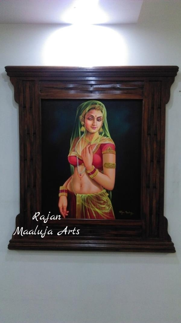 Wall Art in South Delhi  Wall Arts used to decorate your Home or Office Walls. Call now to get the Wall Art for your place. - by Rajan Maaluja - Famous Portrait Painting Artist, New Delhi