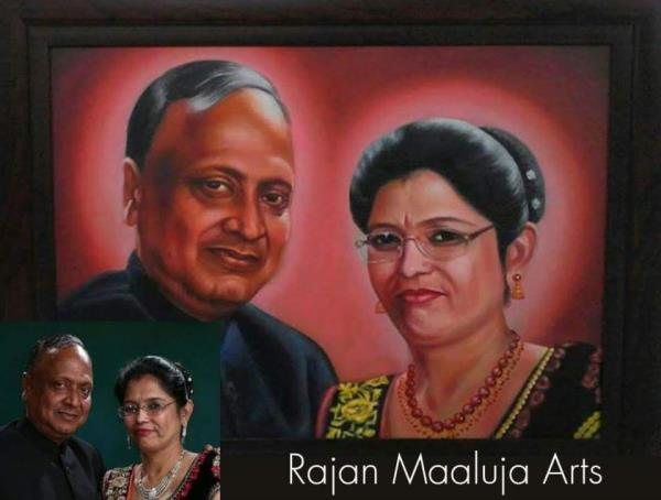 Call now to capture your moment through natural and traditional way. Paintings are Lifetime preservation of moments or of a vision. If you are looking for following then you are at right place:  Portrait Painting Artist in South Delhi Portr - by Rajan Maaluja - Famous Portrait Painting Artist, New Delhi