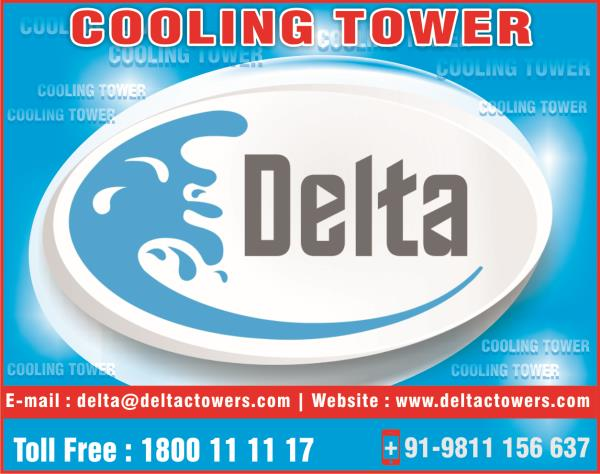 Delta - Manufacturer of Cooling Tower  Designed to perfection, our Cooling Towers are made using quality components and material   www.deltacoolingtowers.in - by Delta Cooling Towers P. Ltd.  9811156637, New Delhi