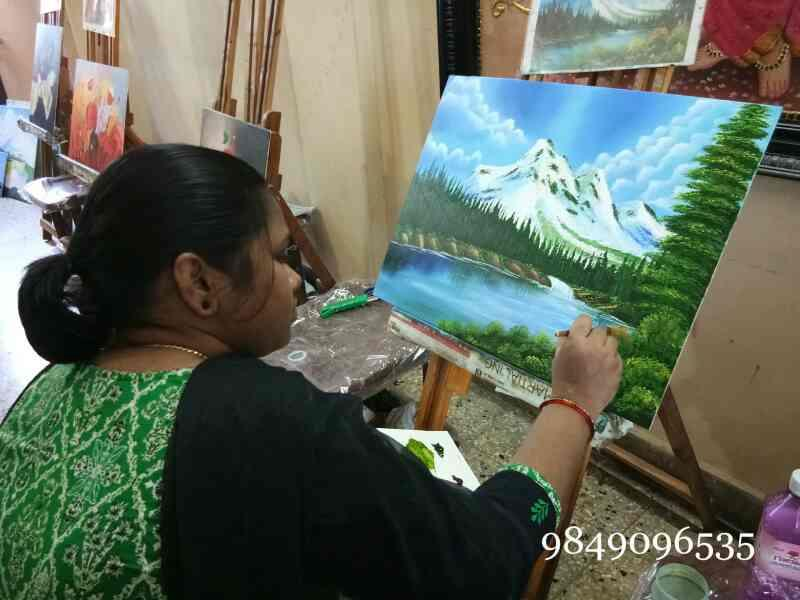 oil painting classes in Ameerpet  canvas painting classes in Ameerpet  art classes in Ameerpet  painting classes in Ameerpet  Tanjore painting classes in Ameerpet  3D Tanjore painting classes in Ameerpet  - by Shantha Painting Institution, Hyderabad