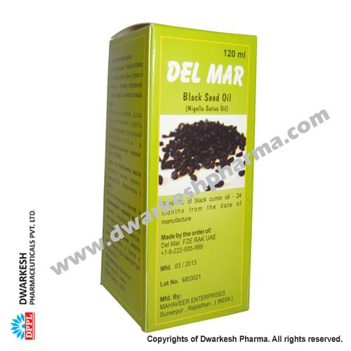 Dwarkesh Pharma is a manufacturer of Black Seed Oil (Nigella Satin Oil) providing pharmaceutical contract manufacturing.