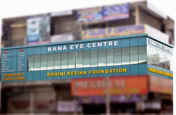 Superspeciality Eye Centre- All Eye Facilities under one roof  Rana Eye Centre now provides all facilities for ocular ailments under one roof . A fully equipped Retina centre,  Oculoplasty & Botox centre to boast off. A centre known for its - by Rohini Retina Foundation ( subsidiary of Rana Eye Centre ), New Delhi
