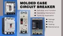 A molded case circuit breaker,  abbreviated MCCB, is a type of electrical protection device that can be used for wide range of voltages, frequencies of both 50 HZ  and 60 HZ. The main distinctions between molded-case and miniature circuit breakers are that the MCCB can have current ratings of up to 2500 amperes, its trip settings are normally adjustable.