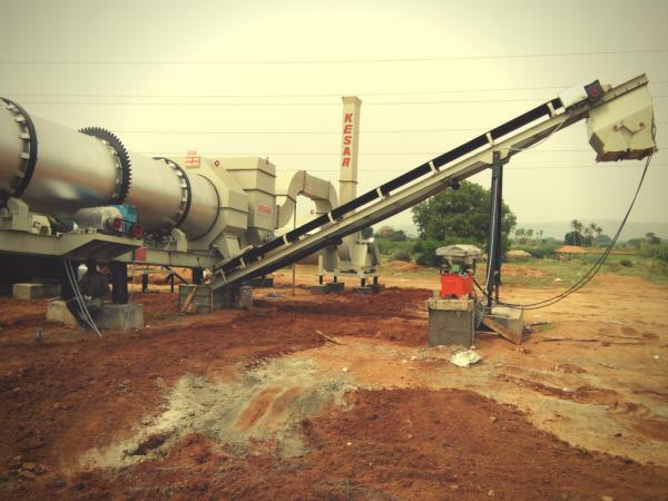 Kesar Road Equipments  is a leading manufacturer of mobile drum mix plant and Asphalt Hot mix type Drum mix Plant in Mehsana, Gujarat, india  www.kesarequipments.com