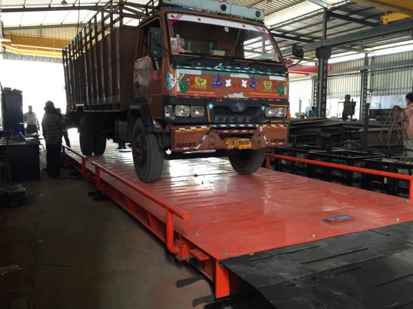 Eagle make foundation less modular weighbridge with steel ramp  ( excellent product )