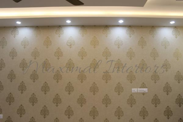 Paper Paper On the wall  #MAXIMAL #INTRERIORS #BENAGLURU Vaishnavi Maralay Vishal Nag Megha Rathnakar - by Maximal interiors , Bangalore