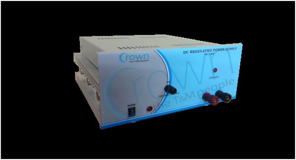 CROWN Fixed Output DC Regulated Power Supply 24V / 1A  CROWN Fixed Output DC Regulated Power Supply 24V / 1A is constant voltage , current limit type supplies.Fixed output power supply is protected against short circuits & overload.  For Mo - by Crown Electronic Systems, New Delhi