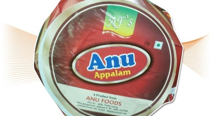 We-Anufoods playing the following roles 1. Appalam Manufacturers 2. Appalam Exporters 3. Appalam Suppliers 4. Appalam Wholesalers 5. Appalam Manufacturers In Madurai 6. Appalam Exporters In Madurai 7. Appalam Suppliers In Madurai 8. Appalam - by Anufoods - Appalam Manufacturer And Exporter In Madurai, Madurai