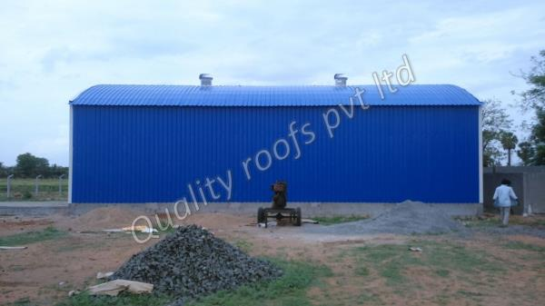 Industrial Shed Fabrication In Chennai            We are the Best Industrial Shed Fabrication In Chennai. We offer high quality Industrial Shed that is best in the industry. Our product is highly reliable and adheres to the international quality standards. The entire product is fabricated under the supervision of skilled professionals, who possess enormous experience in their respective domains. We have gained huge applauds by our clients for our offered products.