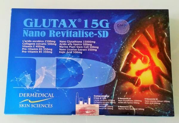 Gluthatione injection in chennai:  Glutax 15g Nano Revitalise injection for getting fair and bright skin  Glutax 15g Nano Revitalise injection is very effective against aging symptoms like wrinkles and fine lines. Its updated formula has helped millions of people all over the world to achieve fair and bright forever. Who can use this product?  This product is meant for any individual with good stature and within 18-60 years of age. This is an immensely effective product for people who have tried multiple of products in recent past but have not marked any remarkable changes in their skins. Glutax 15g Nano Revitalise injection is also formulated for those people, who want to protect their skin from pollution, harmful chemicals, and natural aging. Ingredients  The most effective ingredients in this product are as follows :      Nano Glutathione - 15000mg     Ascorbic acid - 2500mg     Collagen Extract- 500mg     Alpha lipoic acid- 500mg     Marine Plant Stem Cell- 500mg     Kojic Acid-- 500mg     Nano Licorice Extract- 350mg     Vitamin E- 400mg     Pro-Vitamin B3- 350mg     Pro-Vitamin B5- 350mg  Thus, it is evident from the ingredients that Glutax 15G Nano Revitalise is a supplement for the body. It provides very important ingredients that fulfills some very basic necessities of the body. Precautions and Restrictions  Glutax 15g Nano Revitalise has no side-effect. As most of the ingredients, specially Glutathione, ascorbic acid and pro-vitamins are soluble in water, excess or unused part of these ingredients are drained from the body naturally.  However, following restrictions need special attention :      Individuals with cardiovascular issues should avoid this injection.     Women who are currently pregnant or breastfeeding should also avoid the injection.     Individuals allergenic to vitamins should also avoid this injection.  Benefits  Benefits of this dietary supplement are numerous, here are some of those :      Reduces hyperpigmentation, the skin looks fair and bright.     Pimple, Acne and rashes are curbed.     Blemishes disappear ly.     Aging symptoms like wrinkles and fine lines disappear.     Protects the skin from the UV rays.     Dark patches fade over time.     Improves skin texture and flexibility of skin.     It increases energy.     It strengthens immune system  Doses  This injection is administered by intramuscularly (IM) or intravenously (IV).One set of injection is pushed every week for 1 or 2 months. Then the dose can be reduced to 1 injection every 2 weeks for maintain achieved condition.  skin whitening:, face creams:, fairness cream:, skin whitening injection:, skin whitening pills:   glutathione:, Body Whitening Treatment:, Whitening Treatment:, Skin Treatment:   Skin Whitening Therapy:, Skin Whitening Peeling:, skin Lightening:, Pigmentation Treatment:    Gluthatione Injections:  Gluthationepills:, lotions:& soaps:, Skin whitening:, Skin Fairness Cream:, Glutathione Tablets:, , Anti Ageing:,    Anti Ageing Wrikle Cream:, Fast Skin Whitening:;Gluthatione cream:skin whitening lotions:  chemical peels: glycolic peels: antiaging peels: salicylic acid peels:  Derma peels: green peeling oil: skin whitening peels: Tca peels: Melasma: & Acne peels: Hair growth products: Hair Baldness Treatment: Hair Regrowth pills: Hairfall treatment: Hair loss Tablets:  Baldness tablets: skin whitening serum: vitamin C serum: HYALURONIC ACID serum: skin whitening lotions: Glutathione serum: kojic acid serum: collegen serum: spf50 lotions: sunscreen lotions: sun protection spf30 lotion:  GLUTATHIONE SKIN WHITENING:  CHEMICAL PEELS IN MUMBAI:  SKIN WHITENING CREAMS IN CHENNAI:  HAIR BALDNESS TREATMENT IN CHENNAI:  GLUTATHIONE SKIN WHITENING PRODUCTS:   GREEN PEELING OIL IN CHENNAI:  ANTIAGING PEELS IN MUMBAI:  HAIR REGROWTH PRODUCTS IN CHENNAI:  STEMCELLS HAIR REGROWTH PRODUCTS IN MUMBAI:  SKIN WHITENING LOTIONS IN DELHI:  STEMCELLS SKIN WHITENING IN MUMBAI:  COLLEGEN SKIN WHITENING PILLS IN CHENNAI:  WEIGHTLOSS PILLS IN HYDERABAD:  HYALURONIC ACID SERUM IN MUMBAI: VITAMIN C SERUM IN MUMBAI:  FAIRNESS CREAMS IN CHENNAI:  SKIN WHITENING PILLS IN MUMBAI:  FAIRNESS TREATMENT IN MUMBAI:  HAIRFALL SHAMPOO IN HYDERABAD:  SKIN WHITENING PRODUCTS IN HYDERABAD:  GLUTATHIONE SKIN WHITENIG PILLS IN MUMBAI:  GLUTATHIONE SKIN WHITENING LOTIONS IN DELHI: