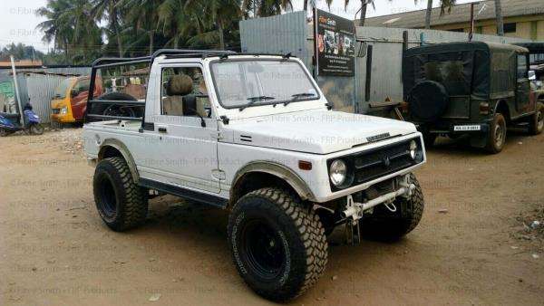 Fibresmith - Jeep modifications and Customisation  We are doing gypsy modification and customisation , Gypsy roll bar , Gypsy metal top , seats alteration  Jeep mofication in Coimbatore , Tamilnadu