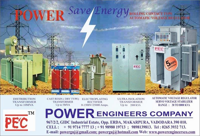 Industrial Transformers Manufacturer POWER ENGINEERS COMPANY