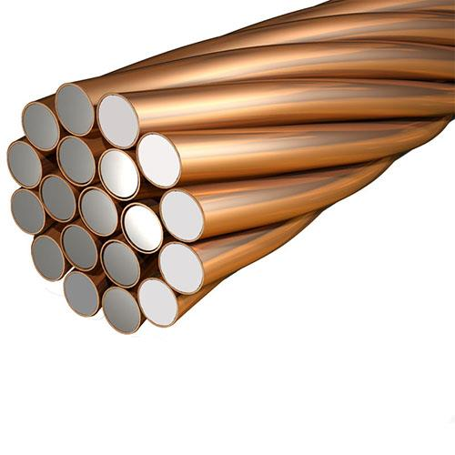 The copper Clad Steel Conductor is the cost effective replacement of solid conductor.  The Copper Clad Steel Grounding Conductor is made up of steel with the coating 99.99% pure copper. These conductors/wires or equipped with the conductivity and better corrosion resistance property of copper.   For more information visit: https://goo.gl/r9ulsR