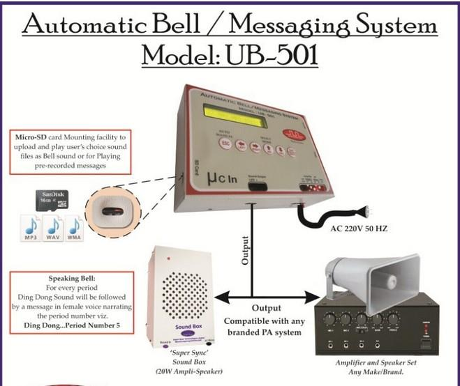 School Bell System is most commonly used system in School and we are leading supplier of Automatic School Bell System from last 6 years in Jaipur.