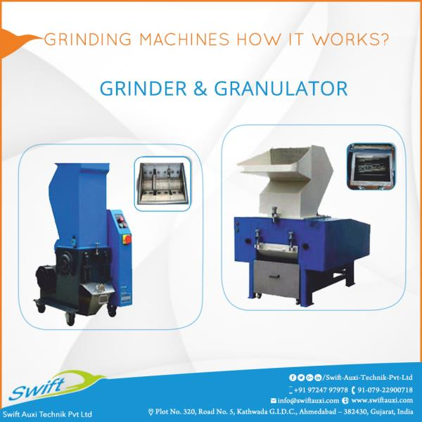 Grinding Machines How It Works?