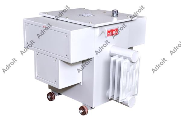 Isolation Transformer Manufacturer In Coimbatore   We are the manufacturer and supplier of Isolation Transformer , control transformers, auto transformers, step up and step down transformer etc. Our range of Isolation Transformer  are available with following features and specifications.  Features: • Very high noise attenuation capacity • Reduced coupling capacitance • Lesser leakage current • Suitable for higher harmonic loads • Core will not saturate even if the applied voltage is high.  Specifications :Isolation Transformer  System ConnectionsDelta/Star or Star/Delta Ratios1:1 and 2:1 RegulationBetter than 3.5% Power Factor0.8 Lagging to 0.8 Leading Di-electric Strength2500V AC for 1Min No Load CurrentLess than 5% Leakage CurrentLess than 20 micro amps Common mode Attenuation100 Db CoreCold Rolled Oriented  Silicon Steel (CRNGO) Isolation Transformer Manufacturer In Coimbatore