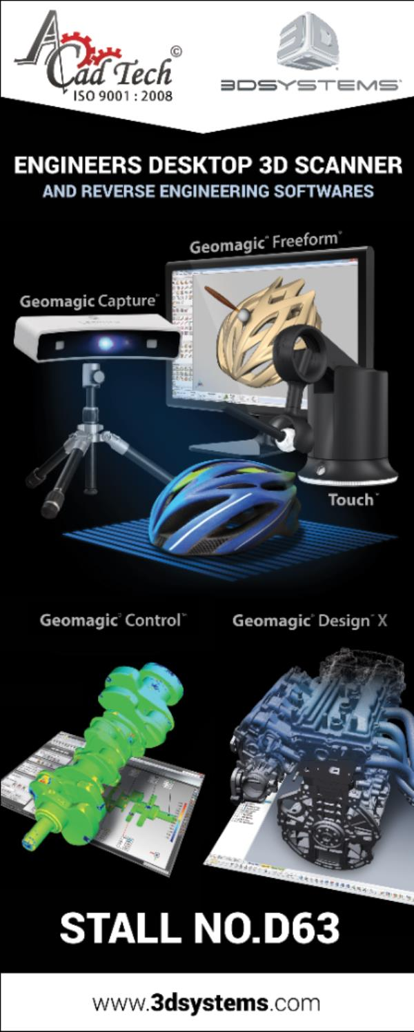 SMALL DESKTO SCANNERS AND GEOMAGIC SOFTWARES