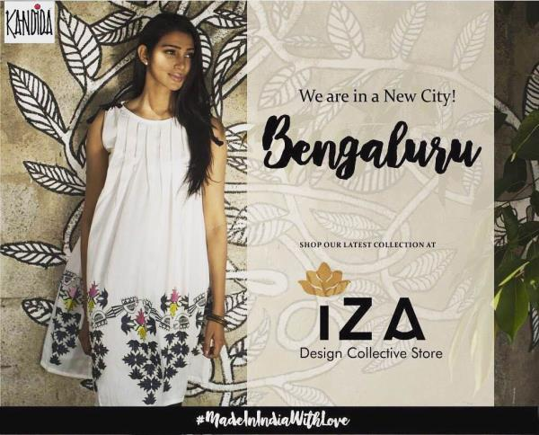 We Are Super Excited Because KANDIDA is Now available in Bengaluru! Find Our Latest Collection at IZA Indranagar. #MultiDesignerStore #Kandida #Iza #MadeInIndiaWithLove #NewCity #bengaluru