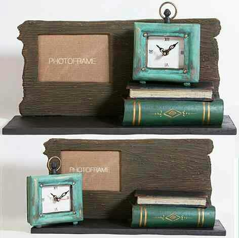 Sleeper Book Table Photo Frame with Clock This two-in-one creative piece from The Art Spa will show you the time and your best memory in the photo frame. Handcrafted in Wood, Fibre & Metal. Dimension W17 X D5 X H9.5 inches. Unique, Handmade Conversational & Functional Art, Home Décor, Accessories, Furniture, Mural, Paintings, Wall Art and more…. The Art Spa – www.theartspa.in http://theartspa.in/product/sleeper-book-table-photoframe-with-clock Call: +91 8828200072