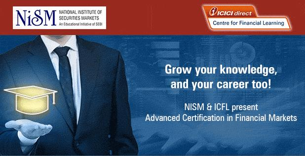 Join ICICI & NISM -