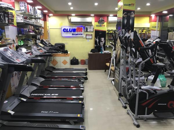 Clubfit - Sports & Fitness Store Annual Offer!  Upto 50% Off on all products!  Products on Offer: Motorised Treadmills, Elliptical Cross Trainers, Upright Bikes, Recumbent Bikes, Spin Bikes, Home Gyms, Multi Gyms, Functional Trainers, Smith Machine, Power Cages, Crossfit Stations, Crossfit Accessories, Sports & Fitness Accessorise, Dietary Supplements, etc.  Call us for free home delivery at: 033-40723593 / 8450087102