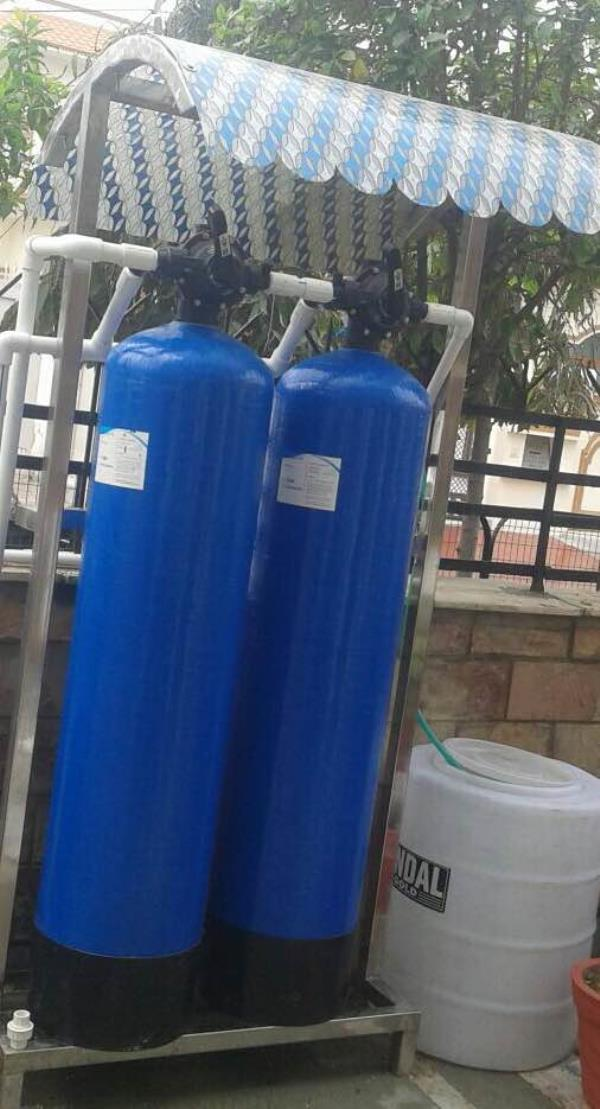Watersoftner (Capacity as per your requirements)  It removes hardness and bad components of water and produces safe and pure water.  Let us know if you want more information.