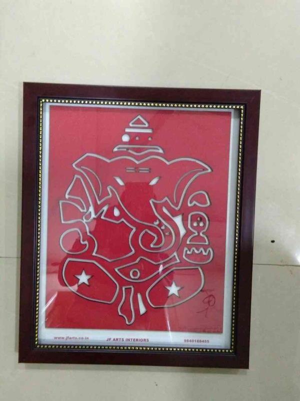 Wall Decorative Gift Frame.MDF laser Cutting