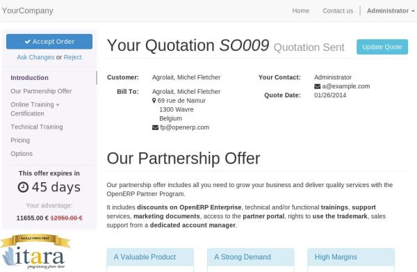 Odoo Pos - Create Professional Quotes Quotation Builder In Odoo